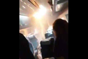 Amago de incendio en tren causó pánico entre los pasajeros en San Javier