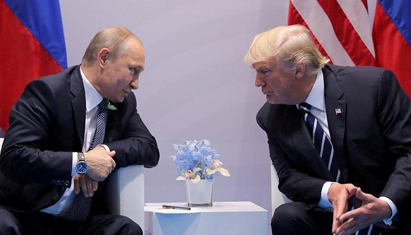 """Trump y Putin tuvieron una """"extensa"""" conversación telefónica sobre Venezuela"""