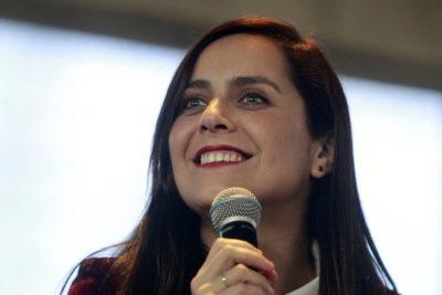 Natalia Valdebenito resumió en una palabra la Cuenta Pública de Piñera