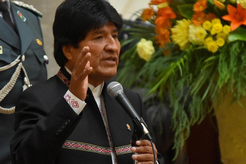 Evo Morales ofreció ayuda para rescatar a mineros bolivianos atrapados en Tocopilla