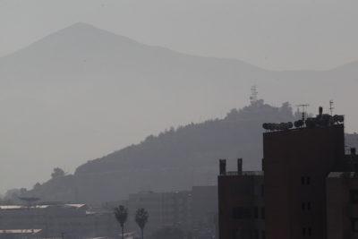 Decretan quinta preemergencia ambiental para Región Metropolitana