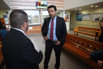 Suspendido fiscal Emiliano Arias se querelló en contra de Sergio Moya por calumnias