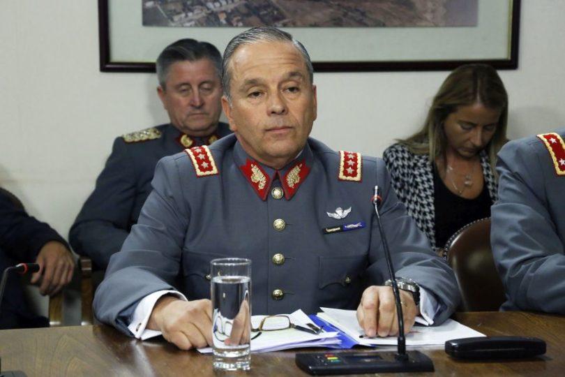 Ministra Rutherford ordena detención de ex comandante del Ejército Humberto Oviedo