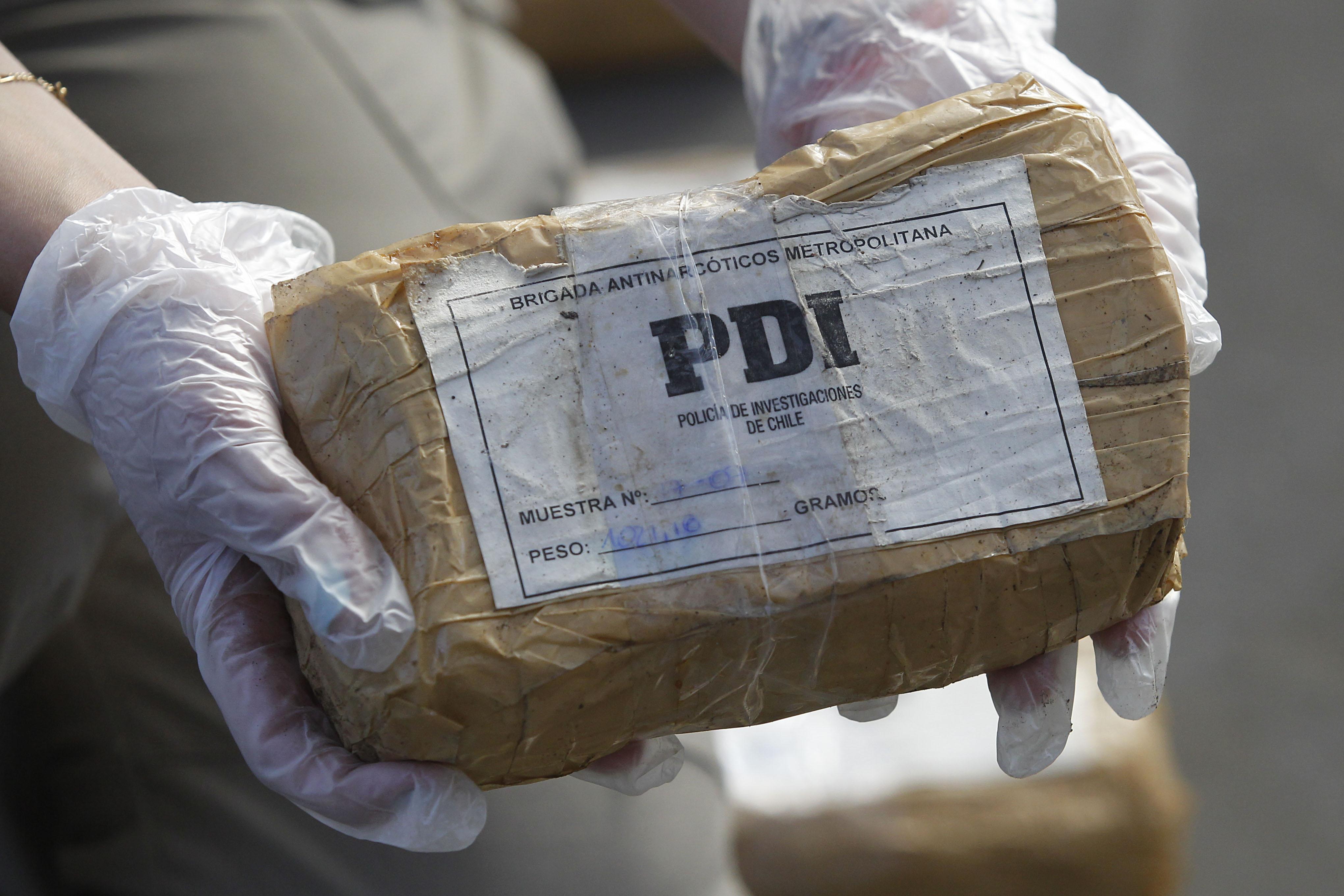 Detienen a cuatro narcos con 35 kilos de cocaína y 7 kilos de pasta base en La Calera