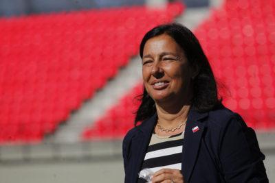 Ministra Kantor se reunió con presidente de la FIFA por candidatura del 2030