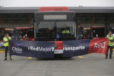 Buses de Red apoyarán debut de la Selección con mensaje en sus pantallas