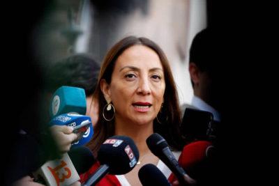 """Cecilia Pérez respaldó a Desbordes: """"Jamás le quitó el piso a la Reforma Tributaria"""""""