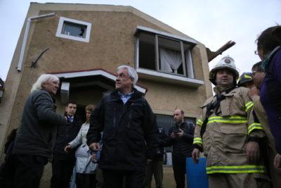 Piñera viaja nuevamente al Biobío para coordinar plan de reconstrucción
