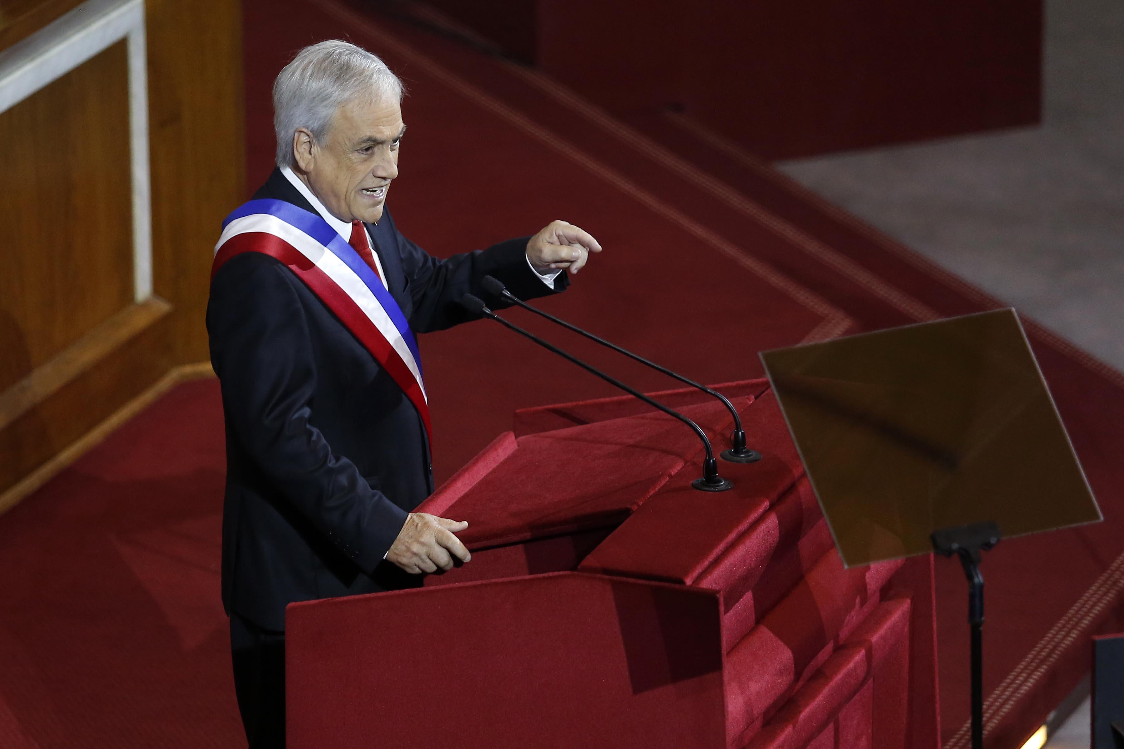 Piñera en horario prime: las claves de su segunda Cuenta Pública
