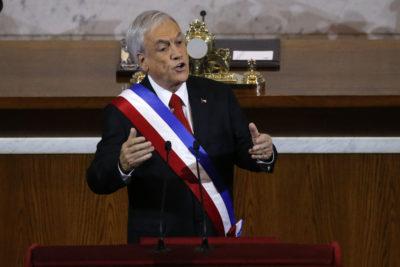 """Piñera y crecimiento económico para 2019: """"Sin duda será un año más difícil"""""""