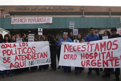 Hospital San José cumple una semana de protestas por falta de recursos