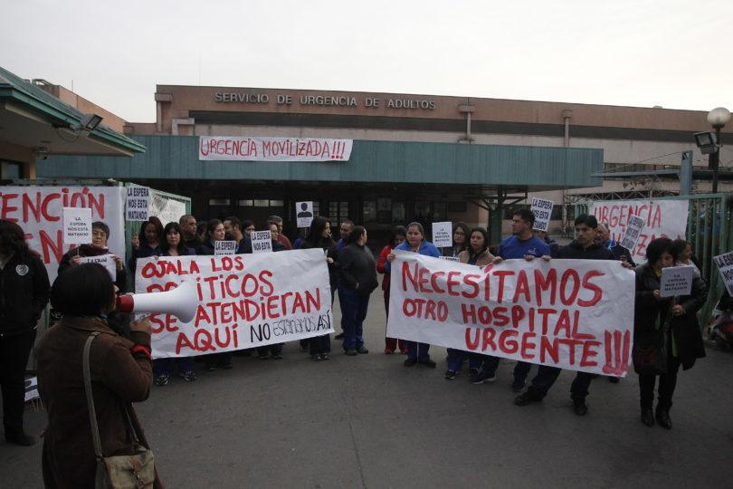 Senadores Quintero y Girardi piden declarar emergencia sanitaria por hospitales