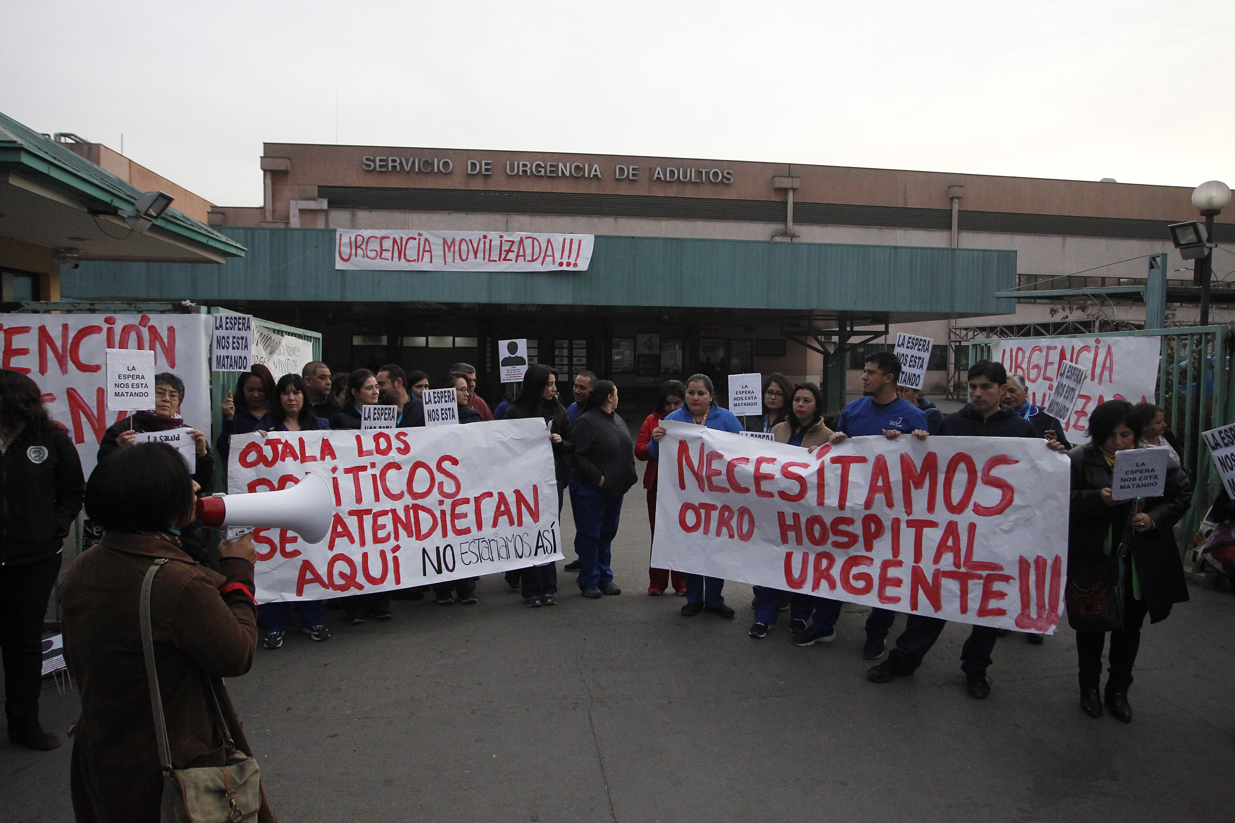 """""""Senadores Quintero y Girardi piden declarar emergencia sanitaria por hospitales"""""""