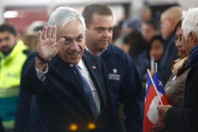 """Piñera y descarbonización: """"Debe ser gradual para no dejar a oscuras al país"""""""