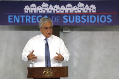Piñera presenta plan de recuperación habitacional para damnificados del Biobío