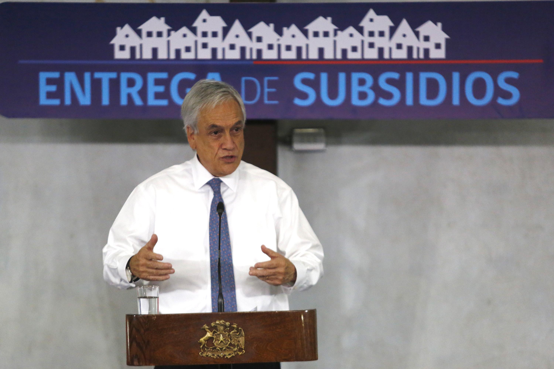 Piñera presenta plan habitacional para Biobío