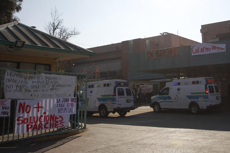 Comenzó instalación del hospital de campaña en apoyo al colapsado San José