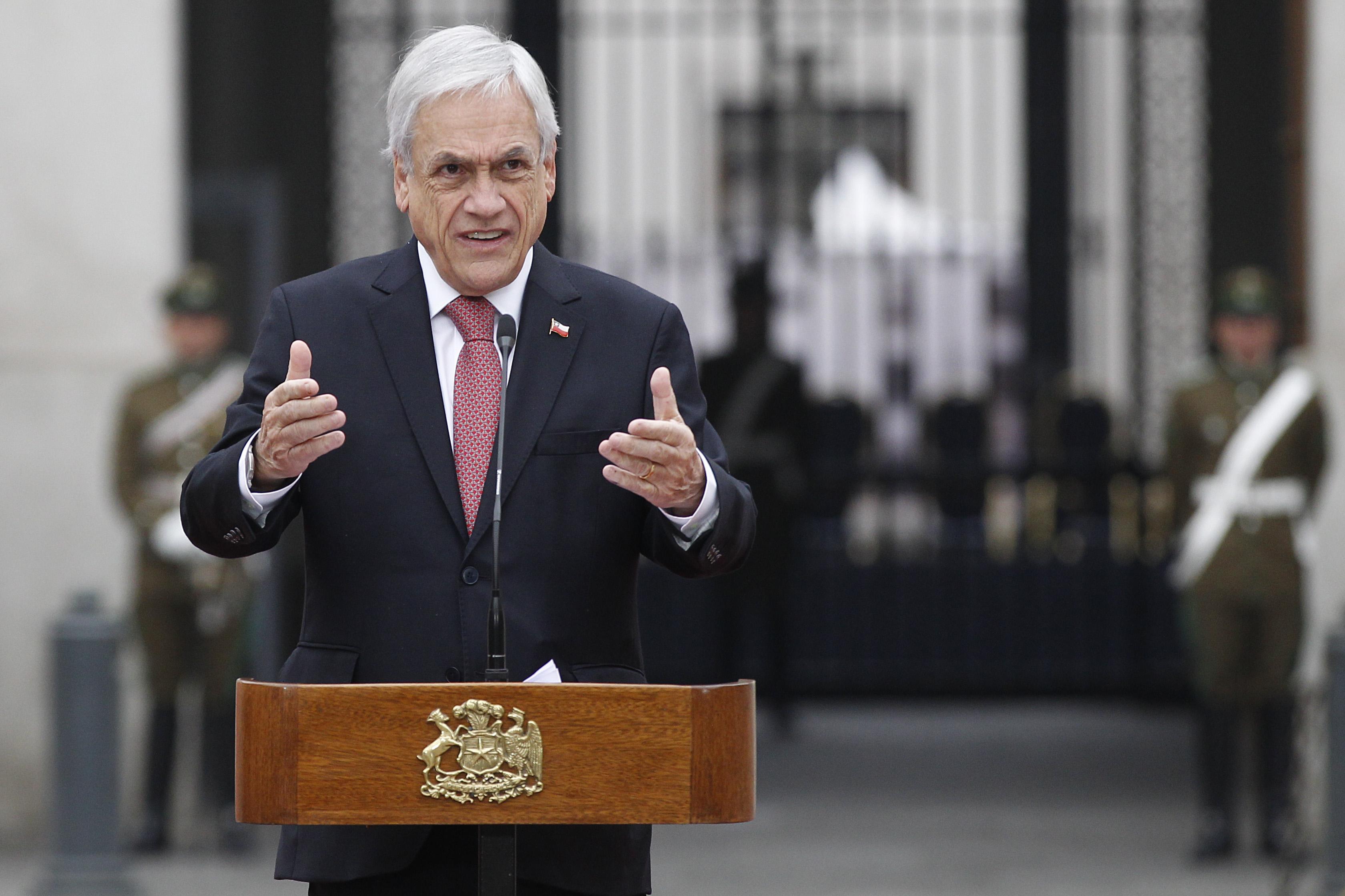 """""""Piñera y presidenciables de Chile Vamos:"""
