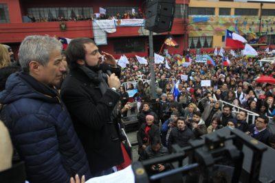 20 mil docentes se congregaron en Valparaíso y anuncian reunión con ministerio