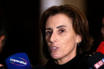 """Ministra Cubillos y toma del Instituto Nacional: """"Se está destruyendo el colegio"""""""
