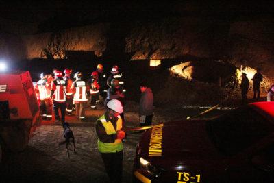 Derrumbe en mina de Tocopilla deja a tres personas atrapadas