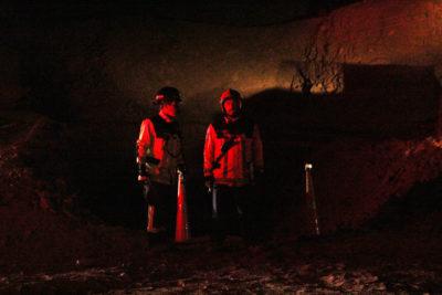 Identifican a personas atrapadas en mina de Tocopilla: rescate demorará varias horas