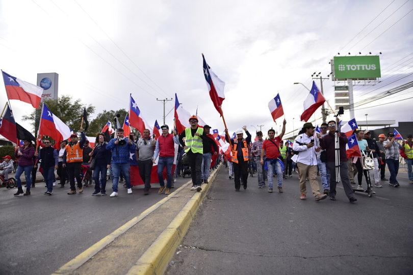 """Trabajadores de Chuquicamata aseguran que huelga """"no es por dinero"""""""