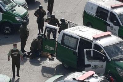 Veinte detenidos en velorio de joven abatido por carabineros en Cerro Navia