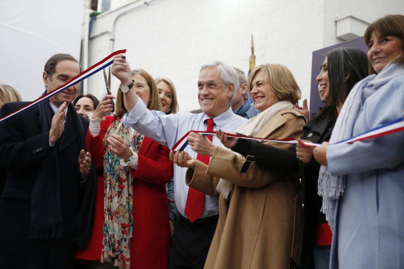 Presidente Sebastián Piñera inauguró la primera Residencia de Alta Especialidad del Sename