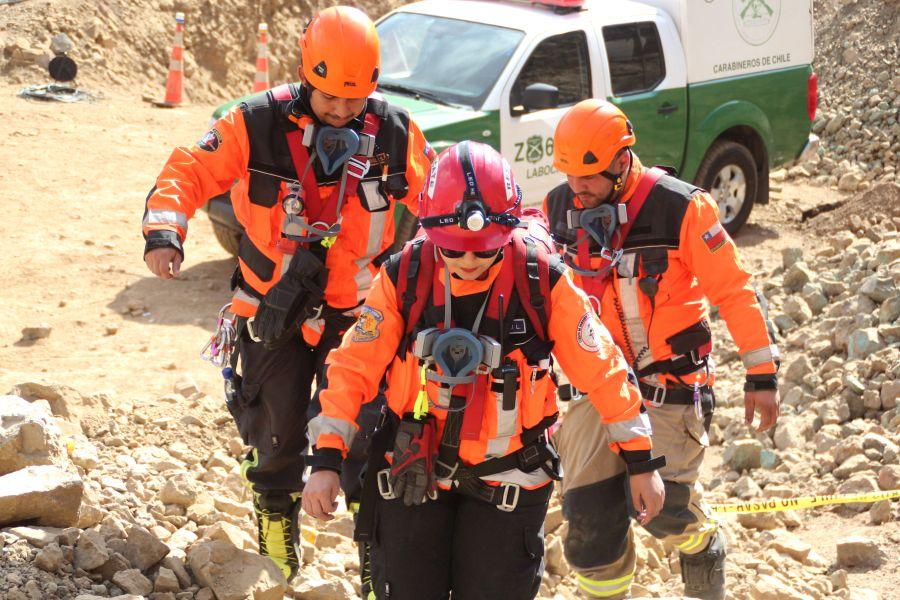 """""""Recuperaron cuerpo de tercer minero atrapado en Tocopilla"""""""