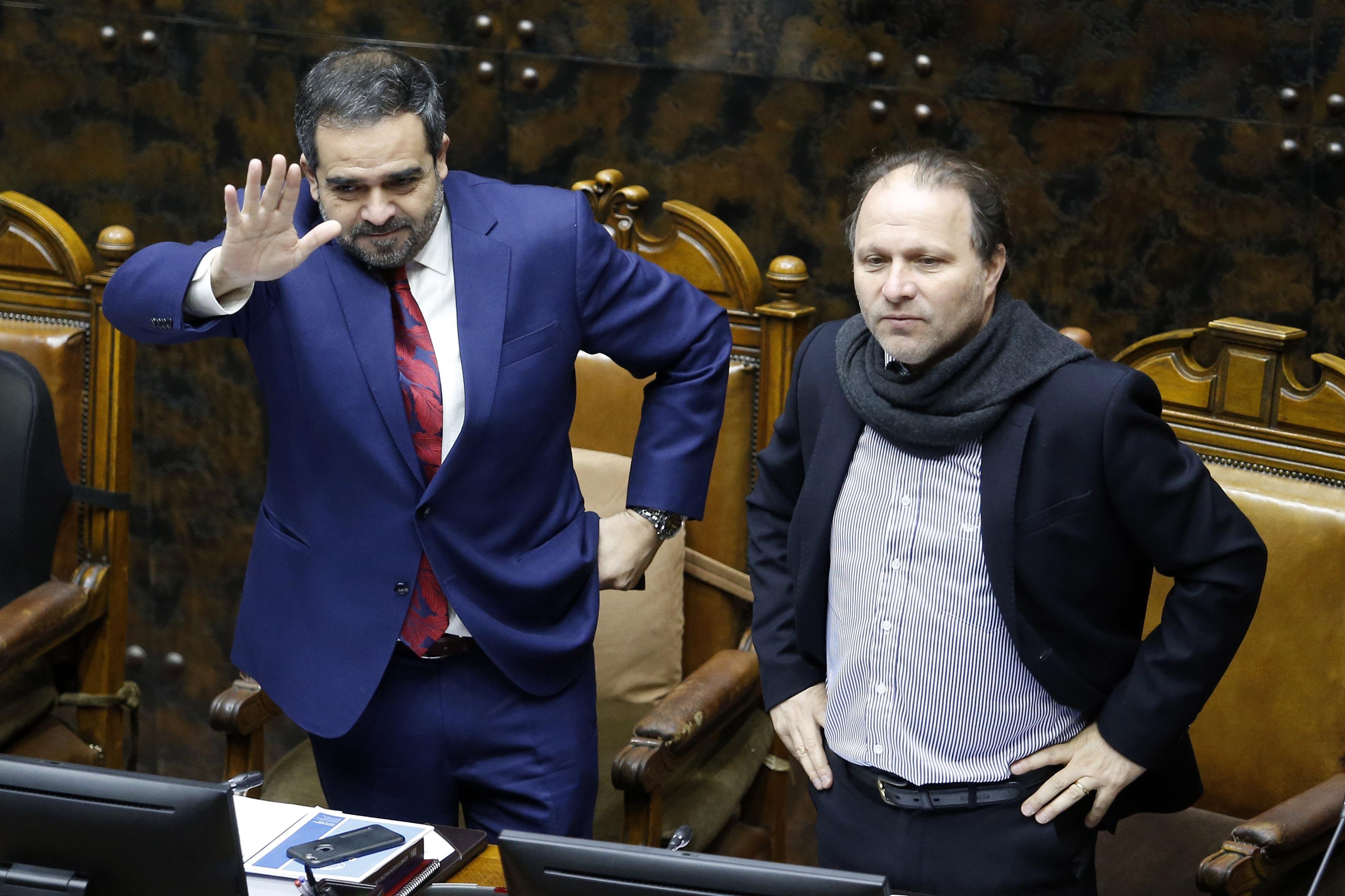 """De Urresti molesto por reformas de Chadwick: """"El Gobierno no puede ignorar al Congreso"""""""