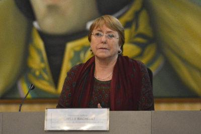 Michelle Bachelet se reunió con dirigentes chavistas en Caracas
