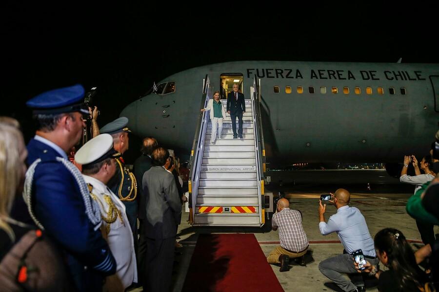"""""""Piñera llegó a Tel Aviv comenzando su gira por Israel y Palestina"""""""