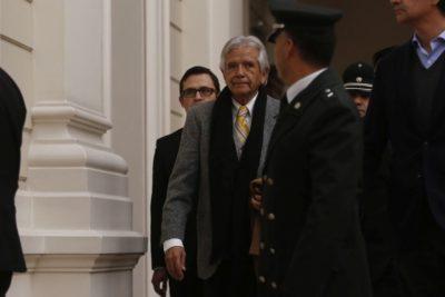 Cardoen llegó a la Corte Suprema para ser notificado del pedido de extradición
