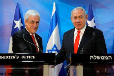 Piñera y Netanyahu firmaron acuerdos sin abordar polémica por presencia de autoridades