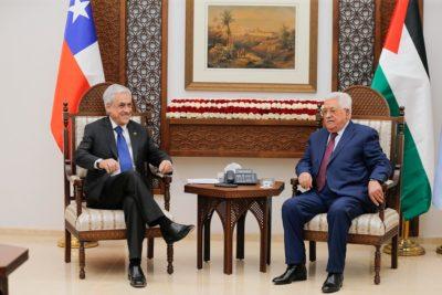 Piñera llama a la paz entre Israel y Palestina tras reunión con Mahmoud Abbas