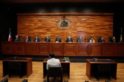 TC escucha alegatos por requerimiento de senadores contra el TPP-11