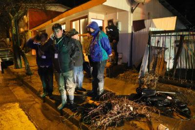 Onemi reporta un fallecido y 590 casas afectadas por inundaciones en el Biobío