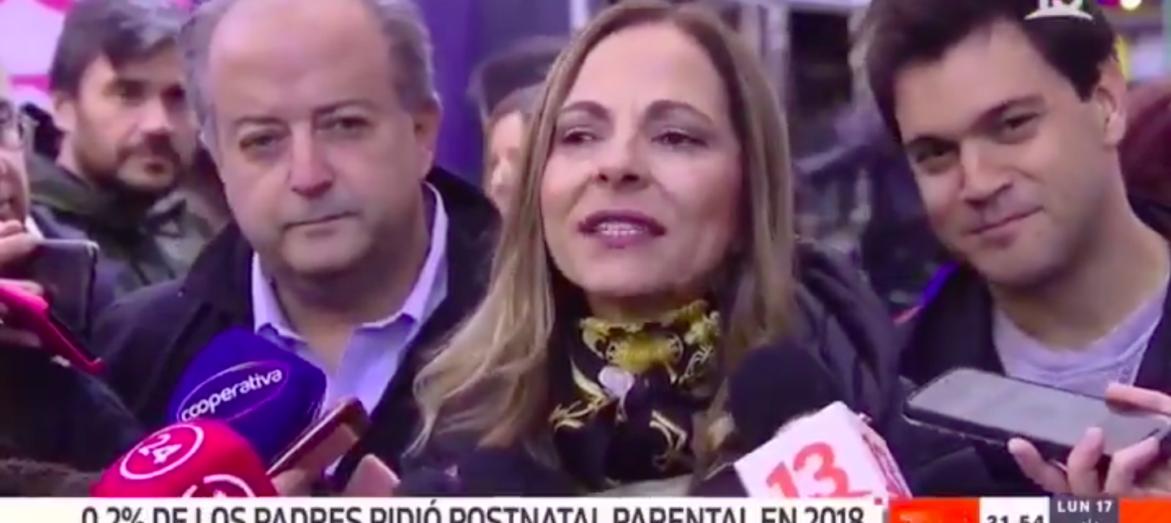 """Ministra Plá aclaró para quien iban dirigidas las """"coquetas"""" miradas del diputado Torrealba"""