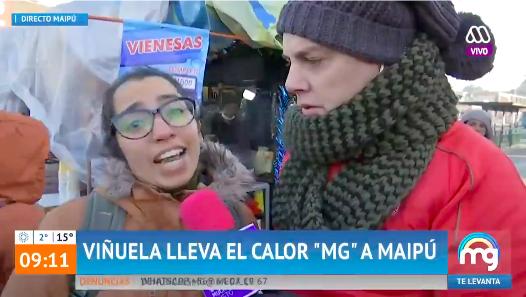 La entrevistada que enfrentó a José Miguel Viñuela en plena calle