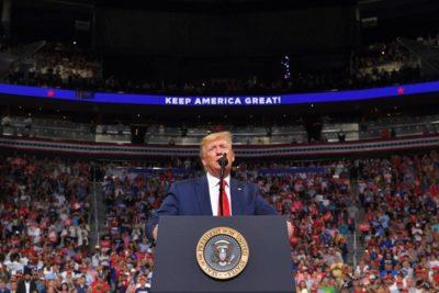 Donald Trump lanzó oficialmente su campaña presidencial 2020