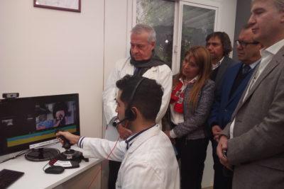 Telemedicina: se realiza la primera ecografía a distancia sobre red 5G en Chile