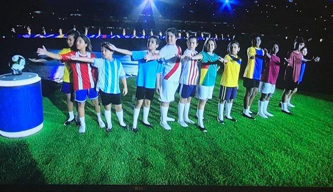 La extraña camiseta de Chile que marcó la obertura de la Copa América