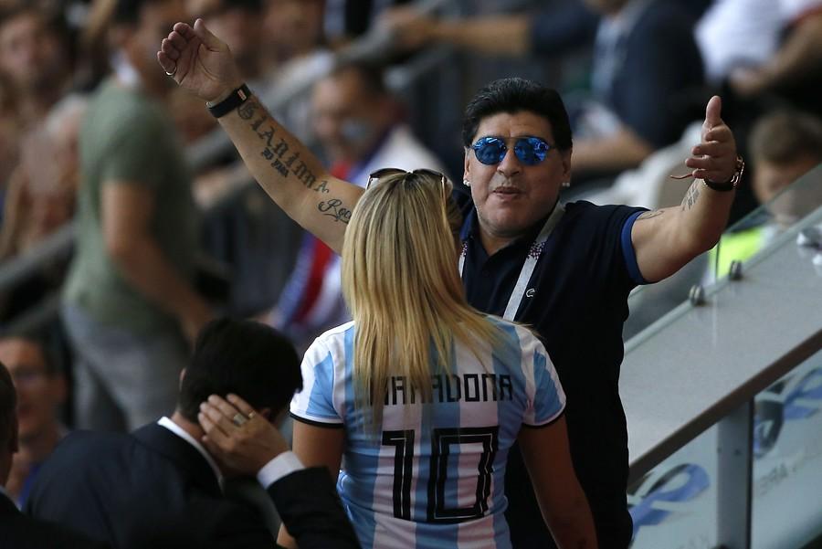 """""""Cercanos a Maradona desmintieron rumores sobre supuesto"""