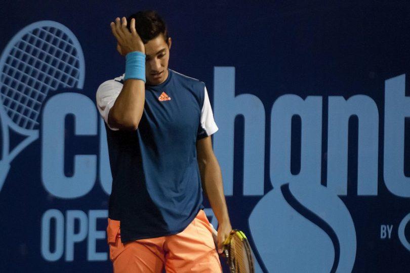 Garin no pudo ante Djokovic