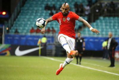 """Arturo Vidal: """"Fue un duro partido ya que ellos se jugaban su opción"""""""