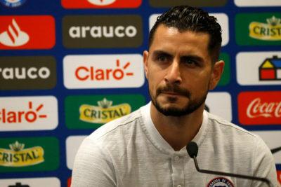 """Gabriel Arias: """"No es una carga reemplazar a Bravo"""""""