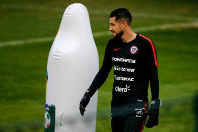 Chile ensayó penales de cara al duelo ante Colombia por cuartos de Copa América