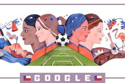 Google celebra con un Doodle el debut de la Roja femenina en el Mundial de Francia 2019