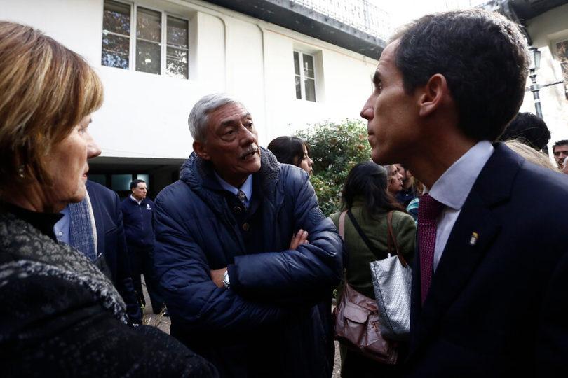 Alcalde Alessandri anuncia instalación de cámaras al interior del Instituto Nacional